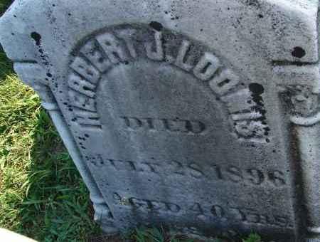 LOOMIS, HERBERT J - Hampden County, Massachusetts | HERBERT J LOOMIS - Massachusetts Gravestone Photos