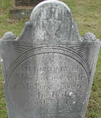 LOOMIS, LOVIE - Hampden County, Massachusetts   LOVIE LOOMIS - Massachusetts Gravestone Photos