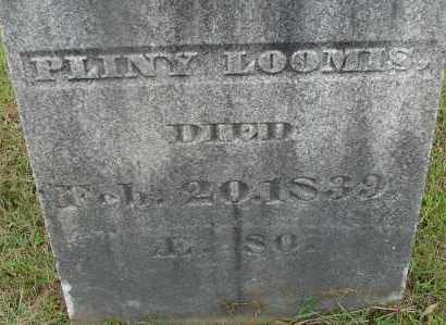 LOOMIS, PLINY - Hampden County, Massachusetts | PLINY LOOMIS - Massachusetts Gravestone Photos