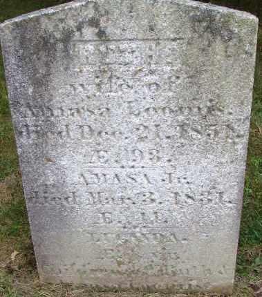 HANCOCK LOOMIS, RUTH - Hampden County, Massachusetts | RUTH HANCOCK LOOMIS - Massachusetts Gravestone Photos