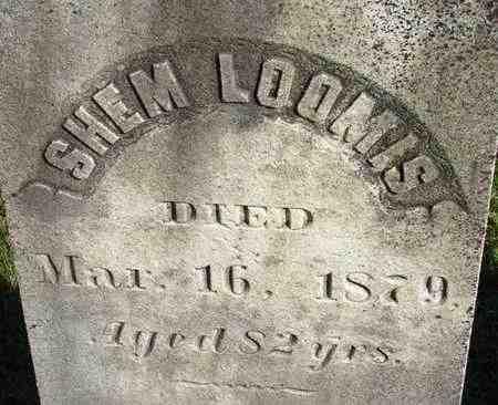 LOOMIS, SHEM - Hampden County, Massachusetts | SHEM LOOMIS - Massachusetts Gravestone Photos