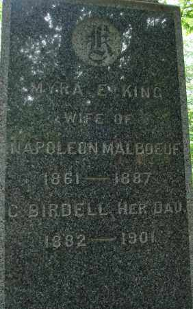 KING, MYRA E - Hampden County, Massachusetts | MYRA E KING - Massachusetts Gravestone Photos