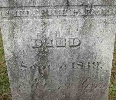 PALMER, FREDERICK - Hampden County, Massachusetts | FREDERICK PALMER - Massachusetts Gravestone Photos