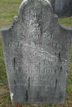 PALMER, MARGARET - Hampden County, Massachusetts   MARGARET PALMER - Massachusetts Gravestone Photos