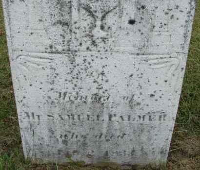 PALMER, SAMUEL - Hampden County, Massachusetts | SAMUEL PALMER - Massachusetts Gravestone Photos