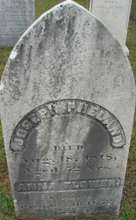 FLOWER PHELAND, ANNA - Hampden County, Massachusetts | ANNA FLOWER PHELAND - Massachusetts Gravestone Photos