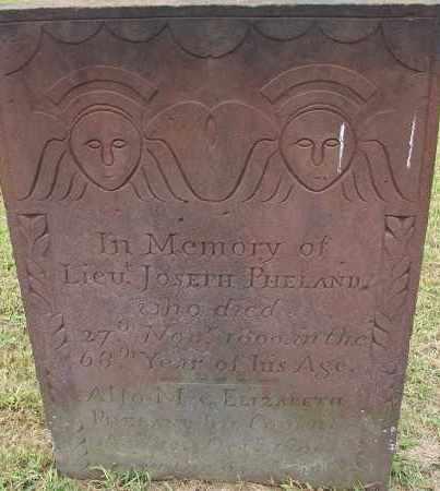 PHELAND, ELIZABETH - Hampden County, Massachusetts | ELIZABETH PHELAND - Massachusetts Gravestone Photos