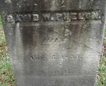 PHELON, DAVID W - Hampden County, Massachusetts | DAVID W PHELON - Massachusetts Gravestone Photos