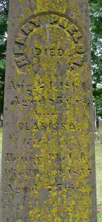 PHELON, HENRY - Hampden County, Massachusetts | HENRY PHELON - Massachusetts Gravestone Photos