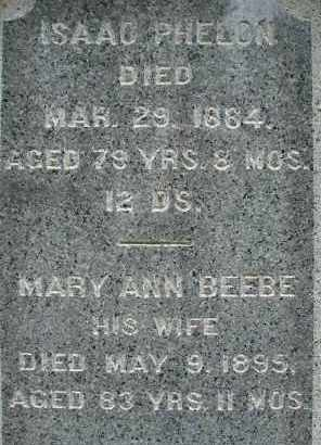 BEEBE PHELON, MARY ANN - Hampden County, Massachusetts | MARY ANN BEEBE PHELON - Massachusetts Gravestone Photos