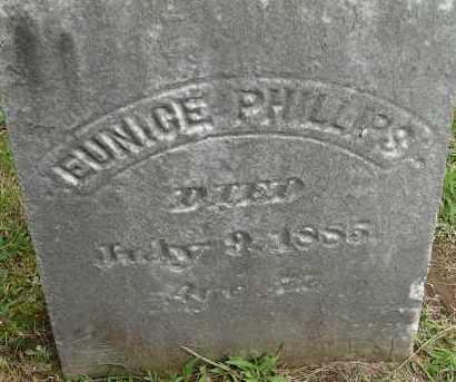 PHILLIPS, EUNICE - Hampden County, Massachusetts | EUNICE PHILLIPS - Massachusetts Gravestone Photos