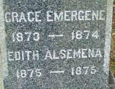 ROBERTS, GRACE EMERGENE - Hampden County, Massachusetts   GRACE EMERGENE ROBERTS - Massachusetts Gravestone Photos