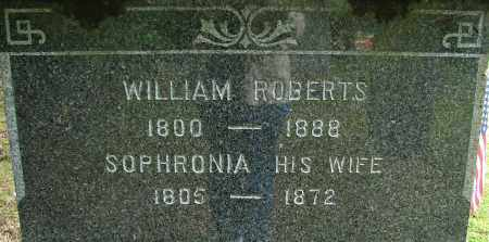 ROBERTS, WILLIAM - Hampden County, Massachusetts | WILLIAM ROBERTS - Massachusetts Gravestone Photos