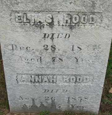 ROOD, ELIAS - Hampden County, Massachusetts | ELIAS ROOD - Massachusetts Gravestone Photos