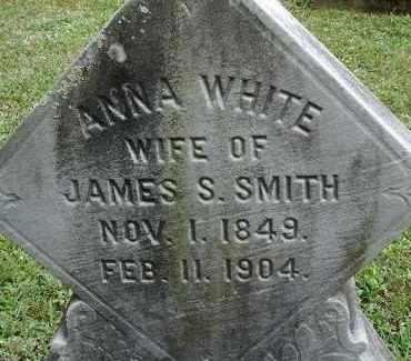 WHITE, ANNA - Hampden County, Massachusetts | ANNA WHITE - Massachusetts Gravestone Photos