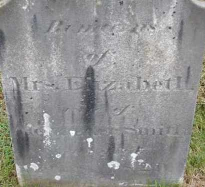 SMITH, ELIZABETH - Hampden County, Massachusetts | ELIZABETH SMITH - Massachusetts Gravestone Photos