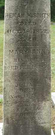 SMITH, JULIA E - Hampden County, Massachusetts | JULIA E SMITH - Massachusetts Gravestone Photos