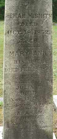SMITH, MARY ANN - Hampden County, Massachusetts | MARY ANN SMITH - Massachusetts Gravestone Photos