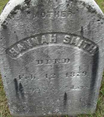SMITH, HANNAH - Hampden County, Massachusetts | HANNAH SMITH - Massachusetts Gravestone Photos