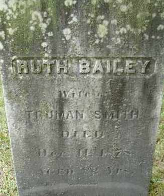 BAILEY SMITH, RUTH - Hampden County, Massachusetts | RUTH BAILEY SMITH - Massachusetts Gravestone Photos