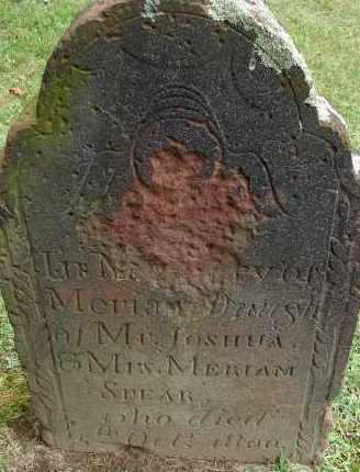 SPEAR, MERIAM - Hampden County, Massachusetts | MERIAM SPEAR - Massachusetts Gravestone Photos