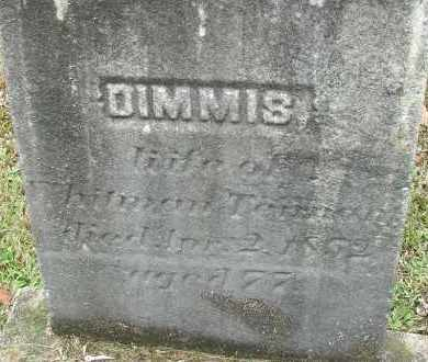 TENNANT, DIMMIS - Hampden County, Massachusetts | DIMMIS TENNANT - Massachusetts Gravestone Photos