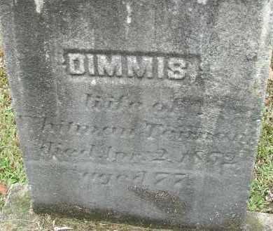 BABBITT TENNANT, DIMMIS - Hampden County, Massachusetts | DIMMIS BABBITT TENNANT - Massachusetts Gravestone Photos