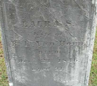 VAN HONN, LAURA S - Hampden County, Massachusetts | LAURA S VAN HONN - Massachusetts Gravestone Photos