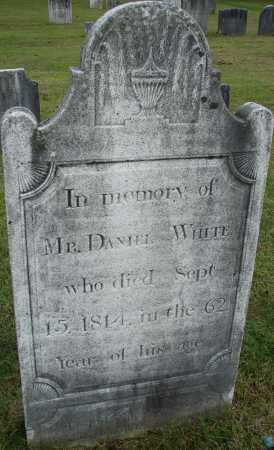 WHITE, DANIEL - Hampden County, Massachusetts | DANIEL WHITE - Massachusetts Gravestone Photos