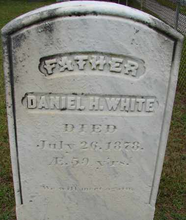 WHITE, DANIEL H - Hampden County, Massachusetts | DANIEL H WHITE - Massachusetts Gravestone Photos