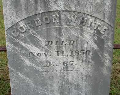 WHITE, GORDON - Hampden County, Massachusetts | GORDON WHITE - Massachusetts Gravestone Photos