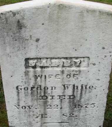 WHITE, ABBY - Hampden County, Massachusetts | ABBY WHITE - Massachusetts Gravestone Photos