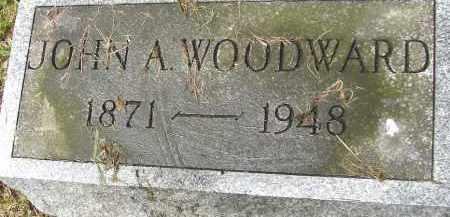 WOODWARD, JOHN A - Hampden County, Massachusetts | JOHN A WOODWARD - Massachusetts Gravestone Photos