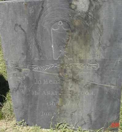 BALCOM, ASAPH - Middlesex County, Massachusetts | ASAPH BALCOM - Massachusetts Gravestone Photos