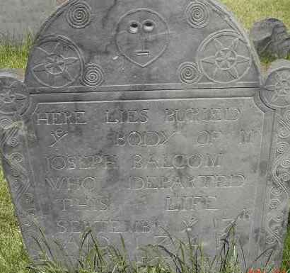 BALCOM, JOSEPH - Middlesex County, Massachusetts | JOSEPH BALCOM - Massachusetts Gravestone Photos