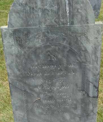 BALCOM, LYDIA - Middlesex County, Massachusetts | LYDIA BALCOM - Massachusetts Gravestone Photos