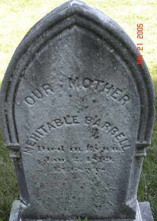 BARRELL, MEHITABLE - Middlesex County, Massachusetts | MEHITABLE BARRELL - Massachusetts Gravestone Photos