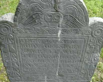 BARRETT, MARY - Middlesex County, Massachusetts   MARY BARRETT - Massachusetts Gravestone Photos