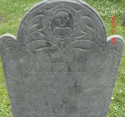 BARRETT, REBECKAH - Middlesex County, Massachusetts   REBECKAH BARRETT - Massachusetts Gravestone Photos