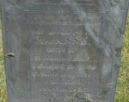 HAYNES, ANNE - Middlesex County, Massachusetts | ANNE HAYNES - Massachusetts Gravestone Photos