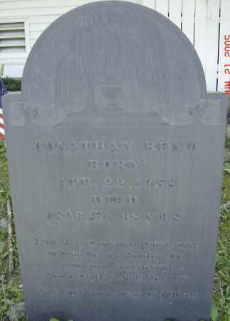 BENT, JONATHAN - Middlesex County, Massachusetts   JONATHAN BENT - Massachusetts Gravestone Photos