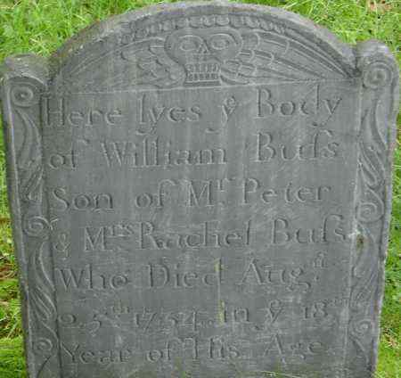 BUSS, WILLIAM - Middlesex County, Massachusetts | WILLIAM BUSS - Massachusetts Gravestone Photos