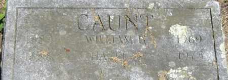 CAUNT, WILLIAM R - Middlesex County, Massachusetts   WILLIAM R CAUNT - Massachusetts Gravestone Photos