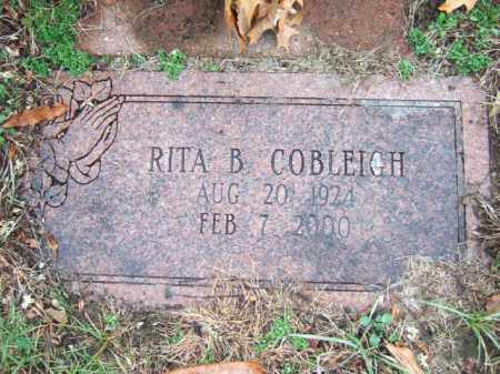 COBLEIGH, RITA B. - Middlesex County, Massachusetts | RITA B. COBLEIGH - Massachusetts Gravestone Photos
