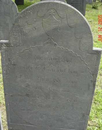 CONANT, ANDREW - Middlesex County, Massachusetts | ANDREW CONANT - Massachusetts Gravestone Photos