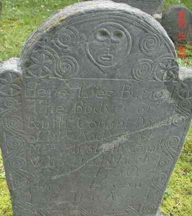 CONANT, RUTH - Middlesex County, Massachusetts   RUTH CONANT - Massachusetts Gravestone Photos