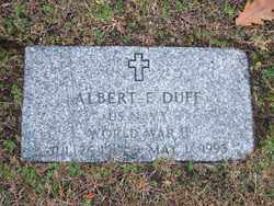 DUFF (WWII), ALBERT E. - Middlesex County, Massachusetts | ALBERT E. DUFF (WWII) - Massachusetts Gravestone Photos