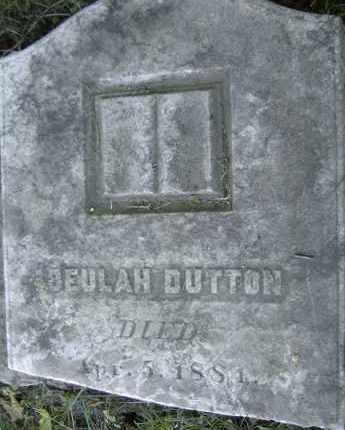 DUTTON, BEULAH - Middlesex County, Massachusetts | BEULAH DUTTON - Massachusetts Gravestone Photos
