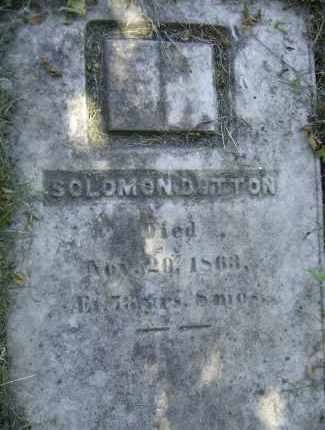 DUTTON, SOLOMON - Middlesex County, Massachusetts | SOLOMON DUTTON - Massachusetts Gravestone Photos