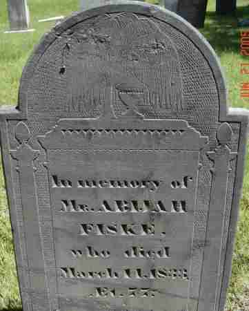 FISKE, ABIJAH - Middlesex County, Massachusetts | ABIJAH FISKE - Massachusetts Gravestone Photos